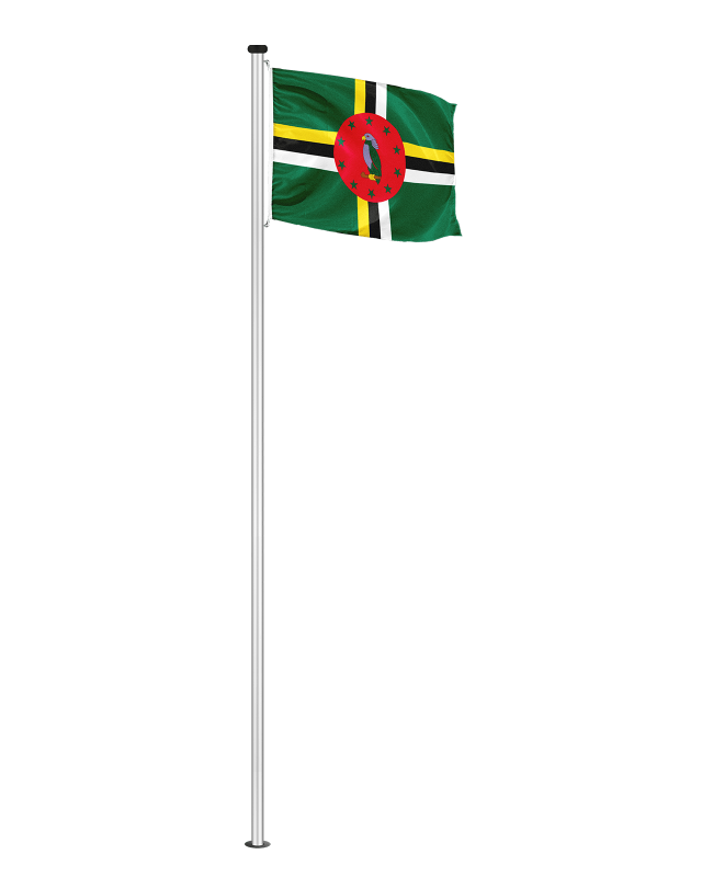Nationalfahne Dominica