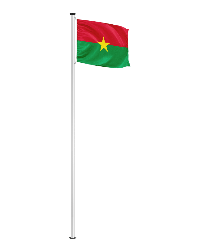 Nationalfahne Burkina Faso