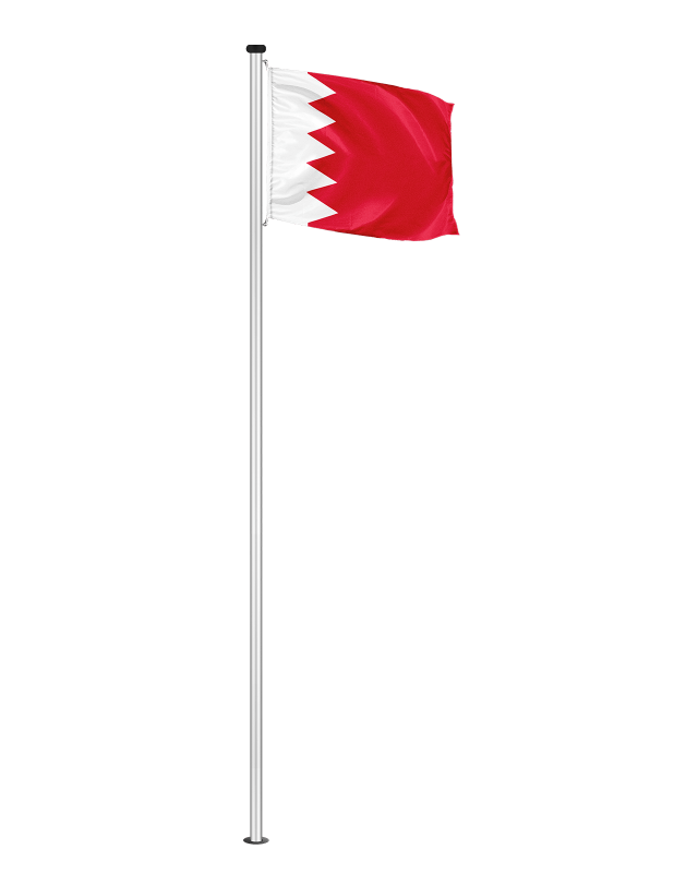 Nationalfahne Bahrain