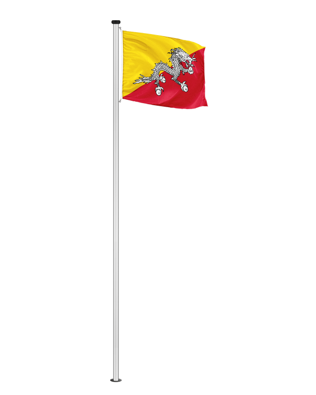 Nationalfahne Bhutan