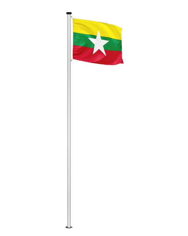 Nationalfahne Myanmar