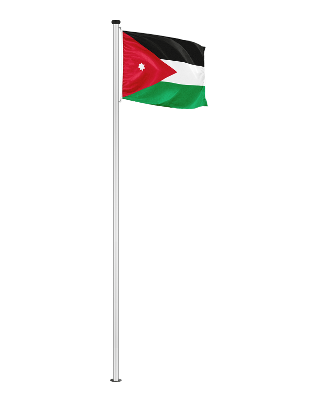 Nationalfahne Jordanien