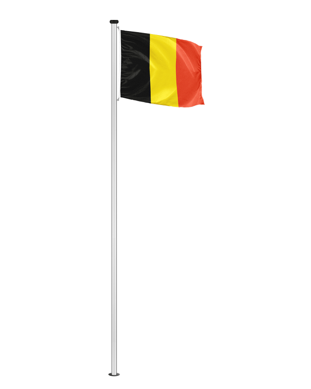 Nationalfahne Belgien